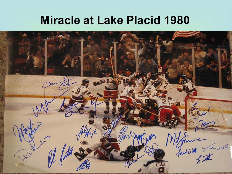 Miracle at Lake Placid 1980