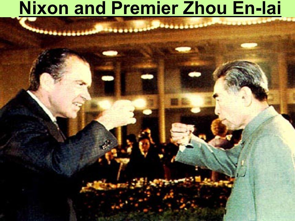 Nixon and Premier Zhou En-lai