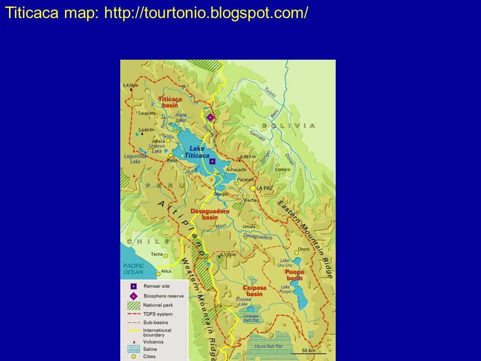 Titicaca map: http://tourtonio.blogspot.com/