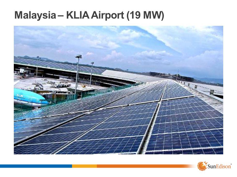 Malaysia – KLIA Airport (19 MW)