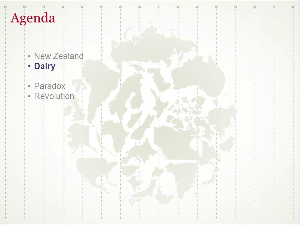 Agenda New Zealand Dairy Paradox Revolution