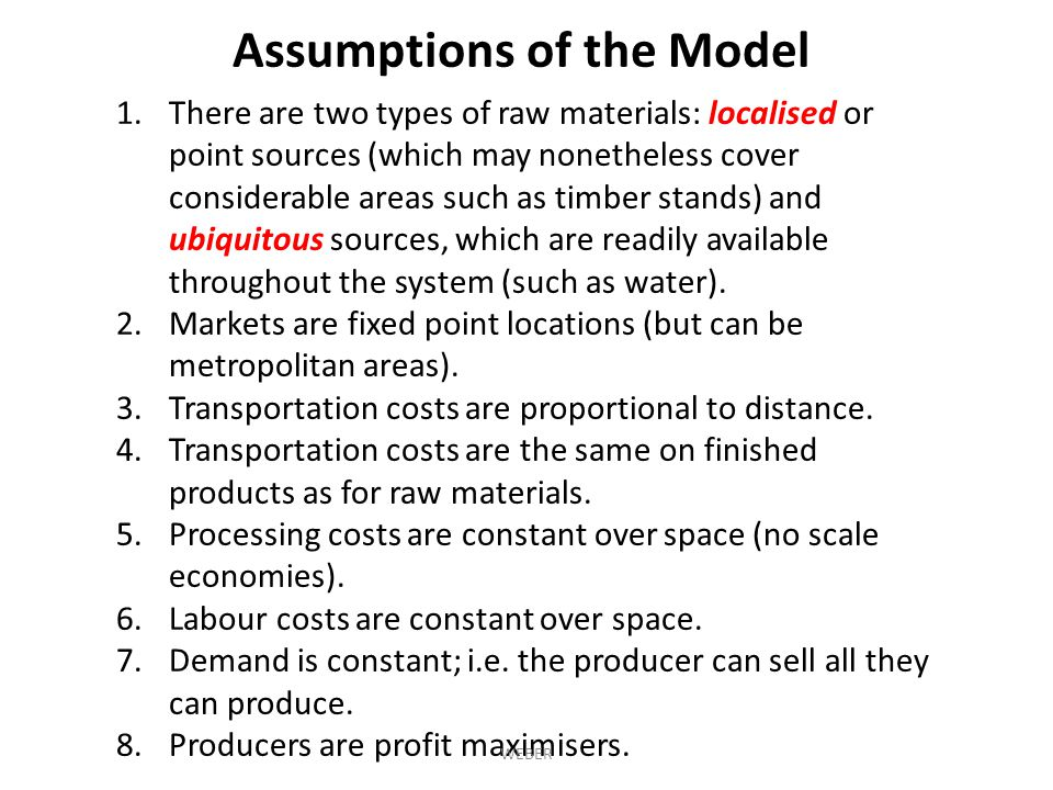 1.There are two types of raw materials: localised or point sources (which may nonetheless cover considerable areas such as timber stands) and ubiquitous sources, which are readily available throughout the system (such as water).