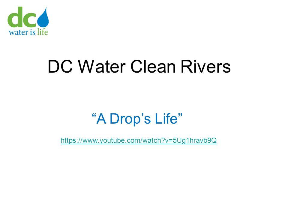 DC Water Clean Rivers https://www.youtube.com/watch?v=5Ug1hravb9Q A Drop's Life