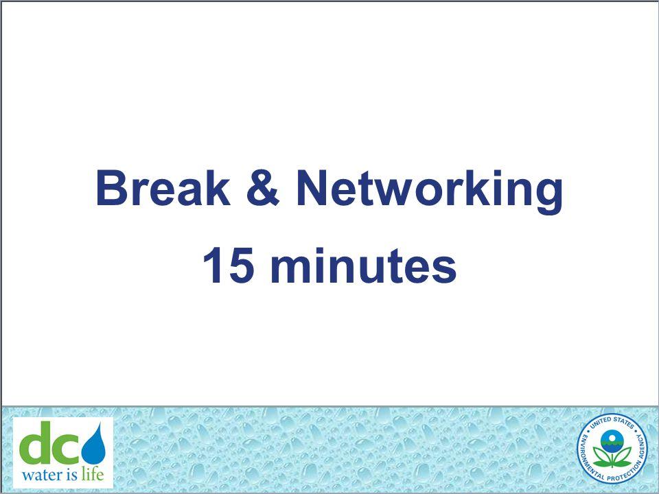 Break & Networking 15 minutes