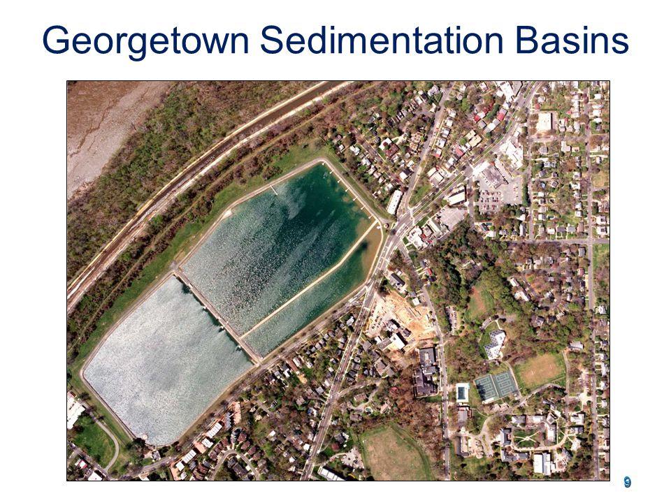 9 Georgetown Sedimentation Basins