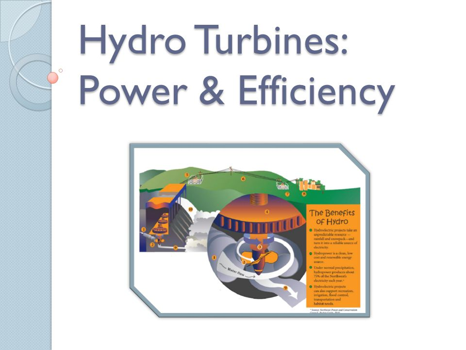 Hydro Turbines: Power & Efficiency