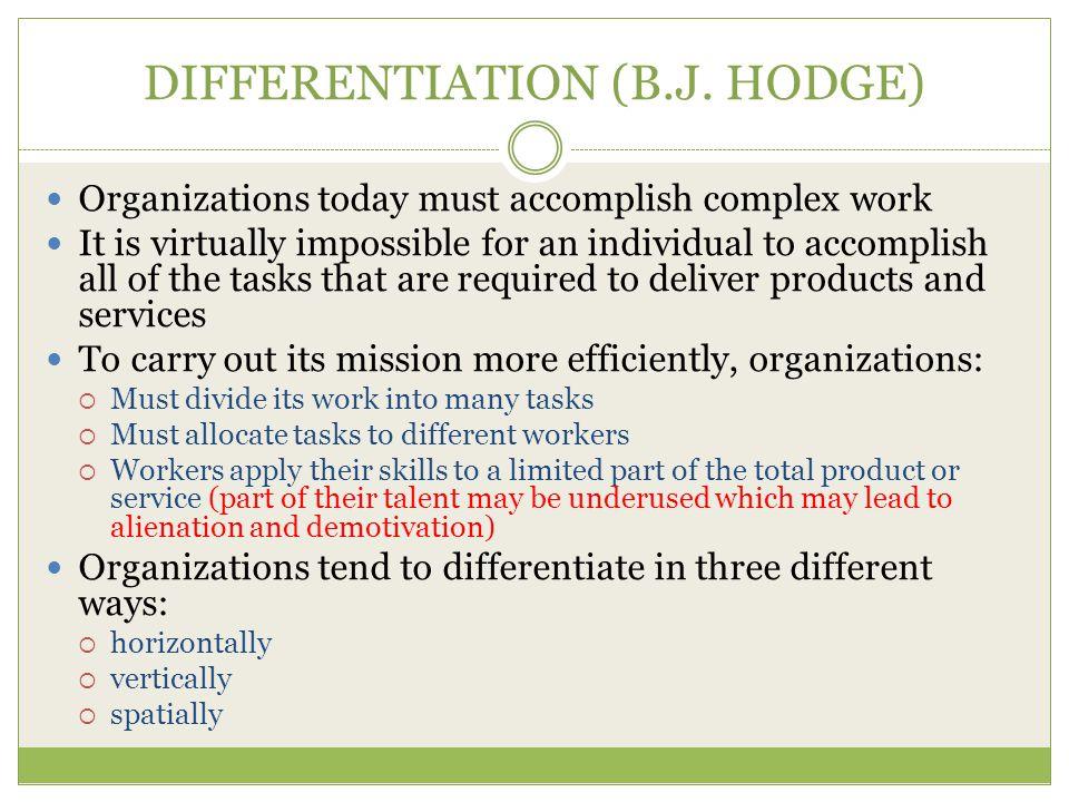 DIFFERENTIATION (B.J.