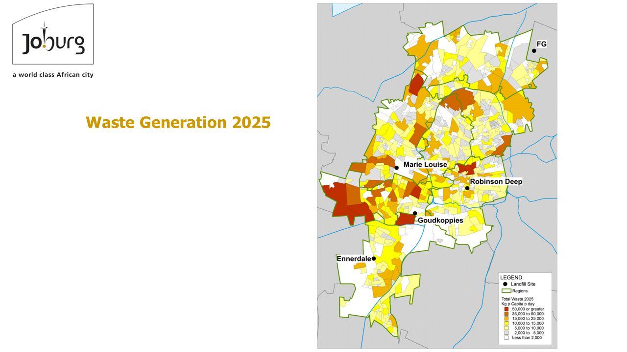 Waste Generation 2025
