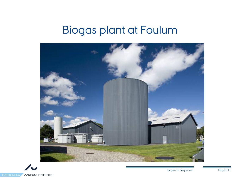 Jørgen B. JespersenMay2011 Biogas plant at Foulum