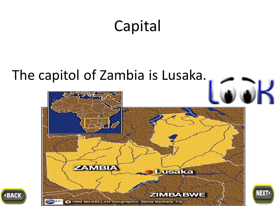 Location location location It is in southern Africa.It has no coastline and is surrounded by the African countries of Tanzania, Malawi, Mozambique, Zimbabwe, Botswana, Namibia, and Angola.