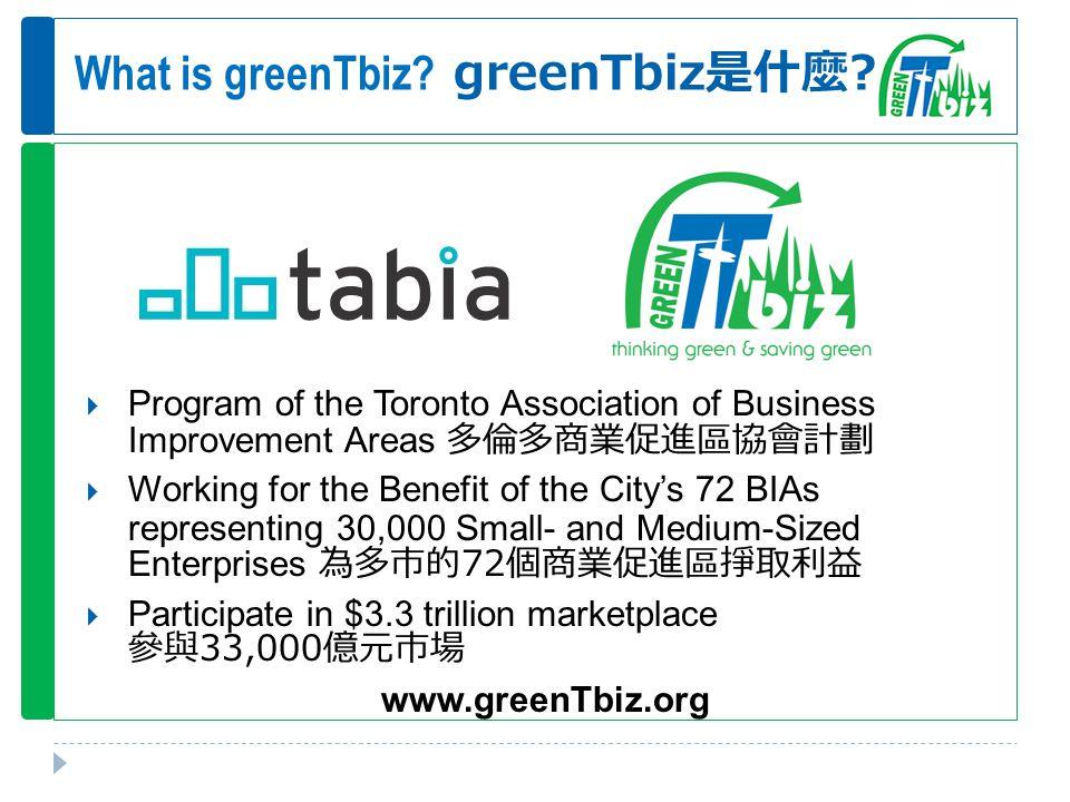 What is greenTbiz. greenTbiz 是什麼 .