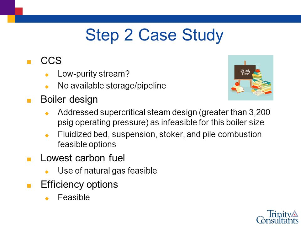 Step 2 Case Study  CCS  Low-purity stream.