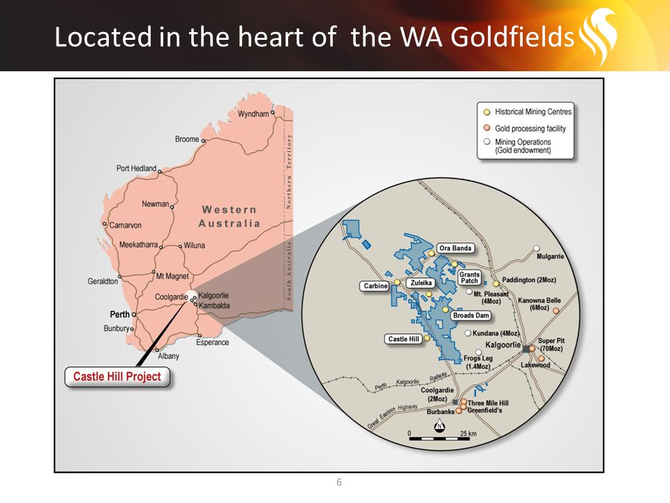 Development options in a difficult market 17 The Company's development options include: 1.Develop and construct new +2Mtpa plant at Castle Hill (higher capex, longer term development phase) 2.Development JV arrangement with existing producer (low capex, short to medium term development phase) 3.Develop Castle Hill and utilise spare milling capacity (low capex, short term development phase, lower production) All options being assessed to deliver best NPV outcome Project finance for each option under evaluation Assessment of options on completion of the DFS