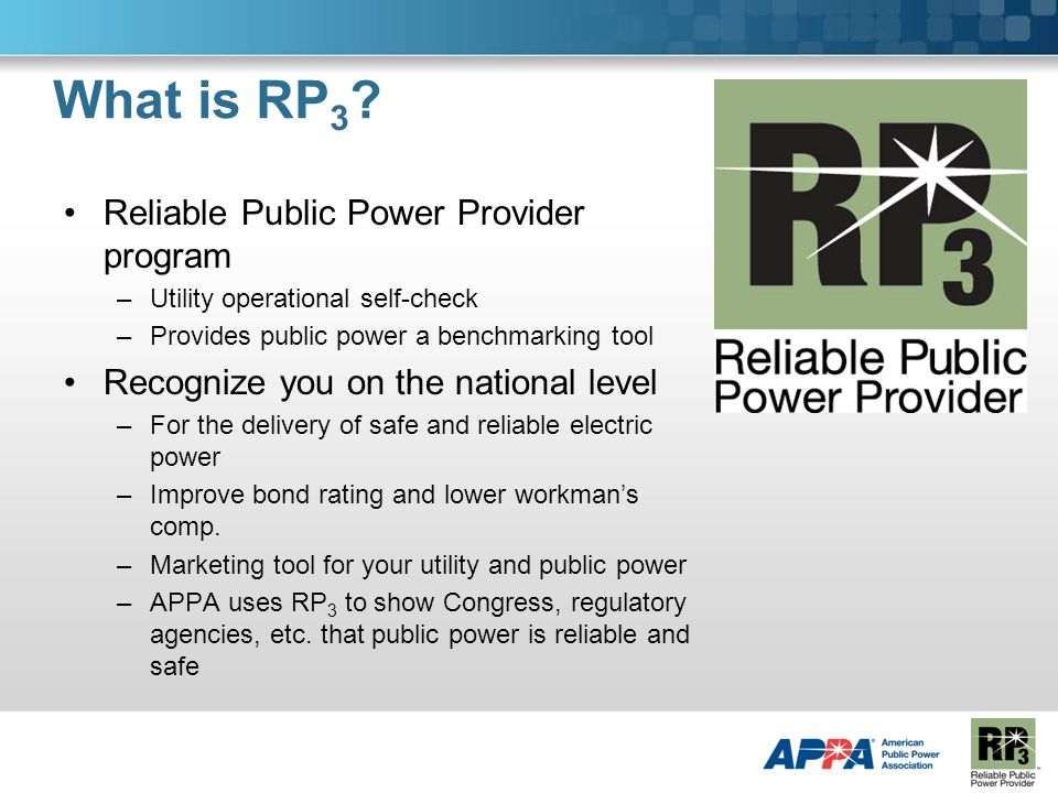 What is RP 3 .