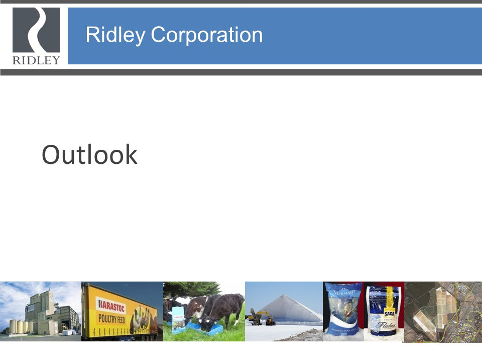 Ridley Corporation Outlook Ridley Corporation 27