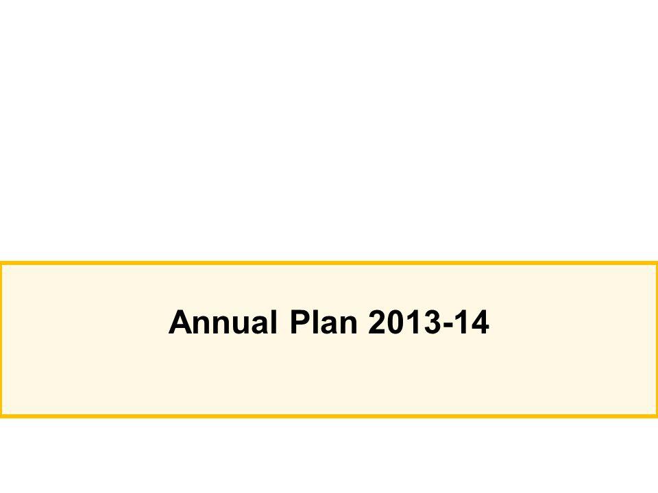 Annual Plan 2013-14