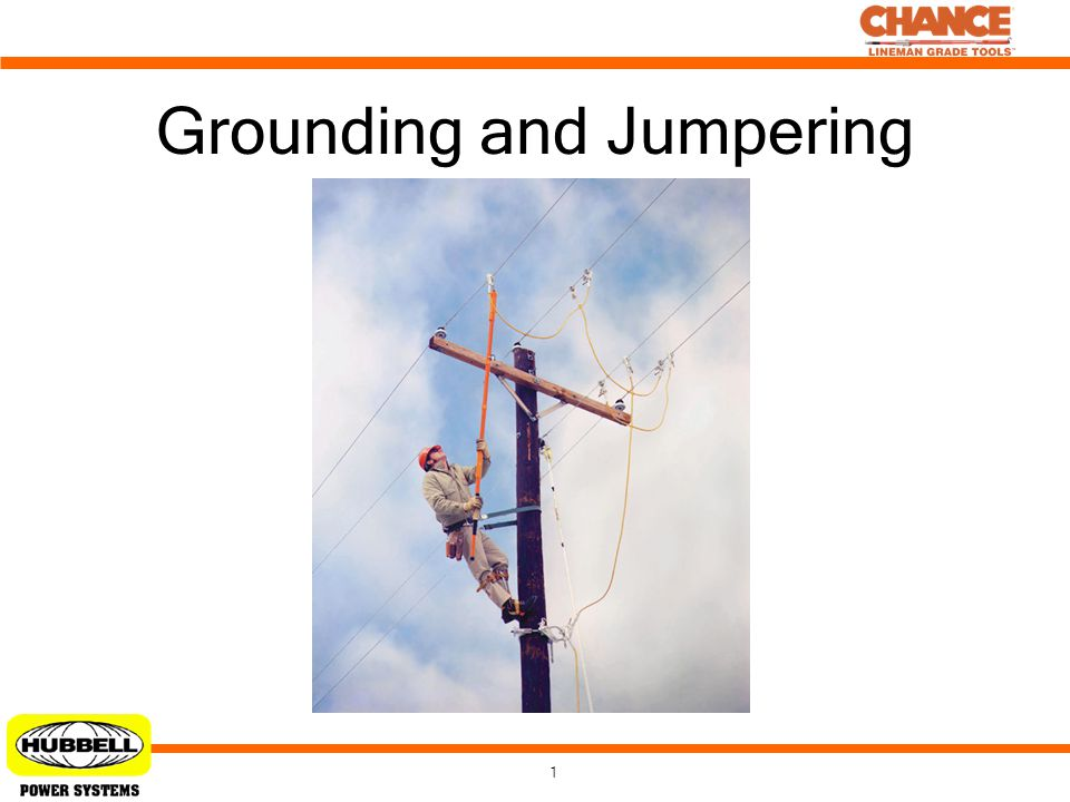 1 Grounding and Jumpering