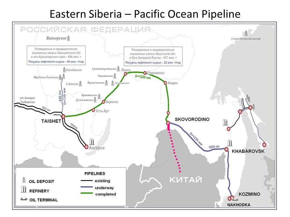 Eastern Siberia – Pacific Ocean Pipeline 34