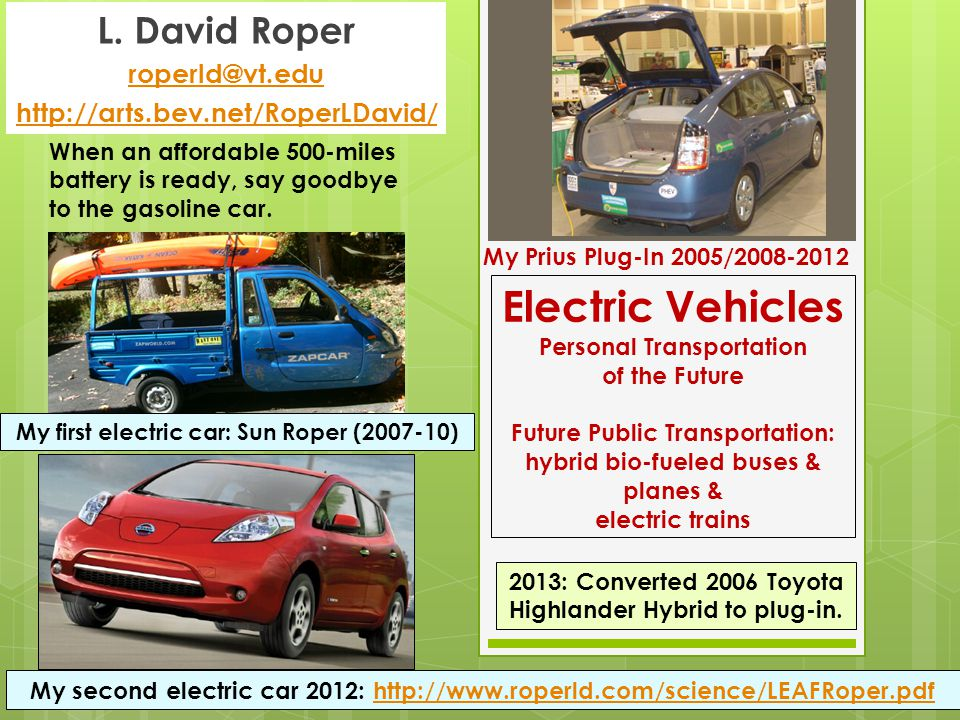 Why Lease/Buy a Nissan LEAF  Reduce carbon emissions per mile traveled  Reduce use of fossil fuels per mile traveled  Reduce use of energy per mile traveled  Reduce traffic noise  Improve vehicle performance  Increase driving mindfulness  Increase public knowledge of electric cars  Increase desirability of renewable energy  Why lease: EV technology will greatly improve in 3 years.