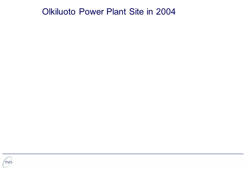 Olkiluoto Power Plant Site in 2004