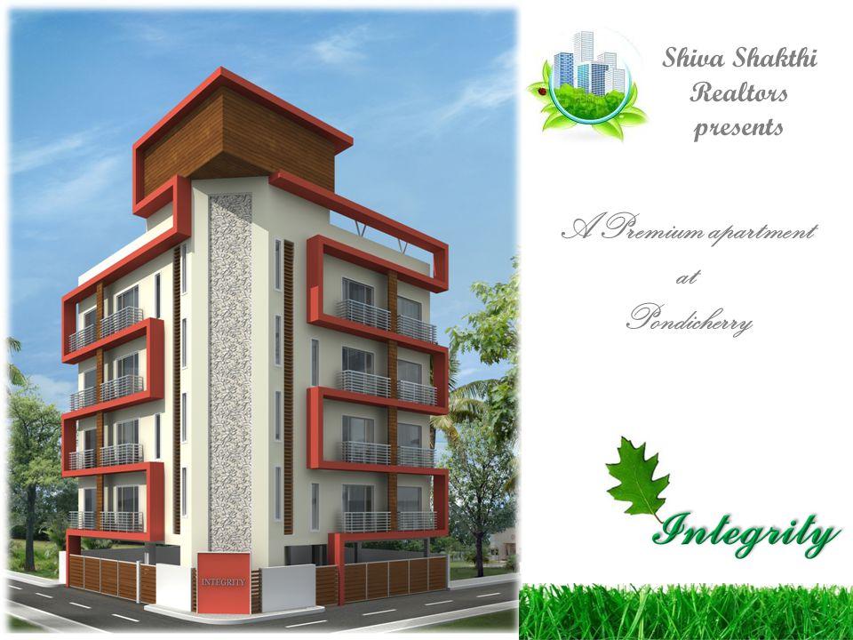 Shiva Shakthi Realtors presents A Premium apartment at Pondicherry