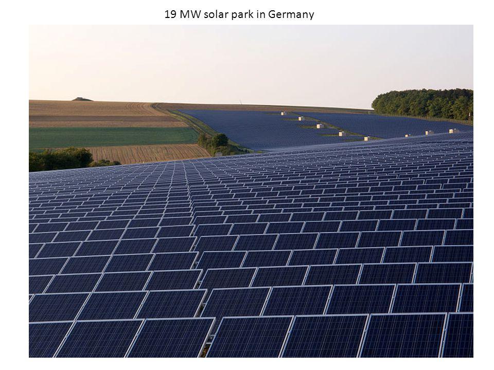19 MW solar park in Germany