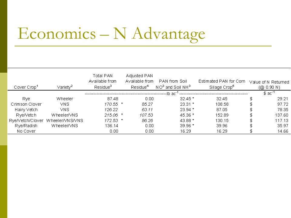 Economics – N Advantage