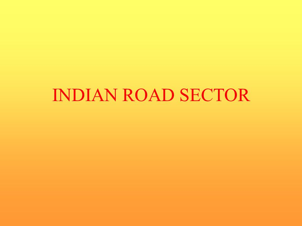 INDIAN ROAD SECTOR