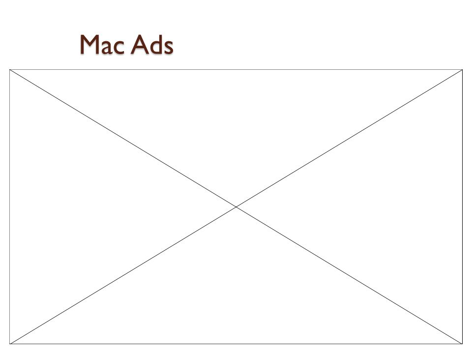 Mac Ads