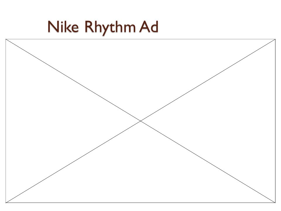 Nike Rhythm Ad
