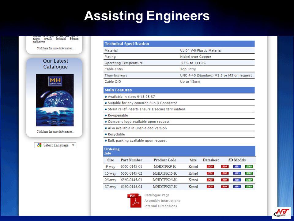 Assisting Engineers