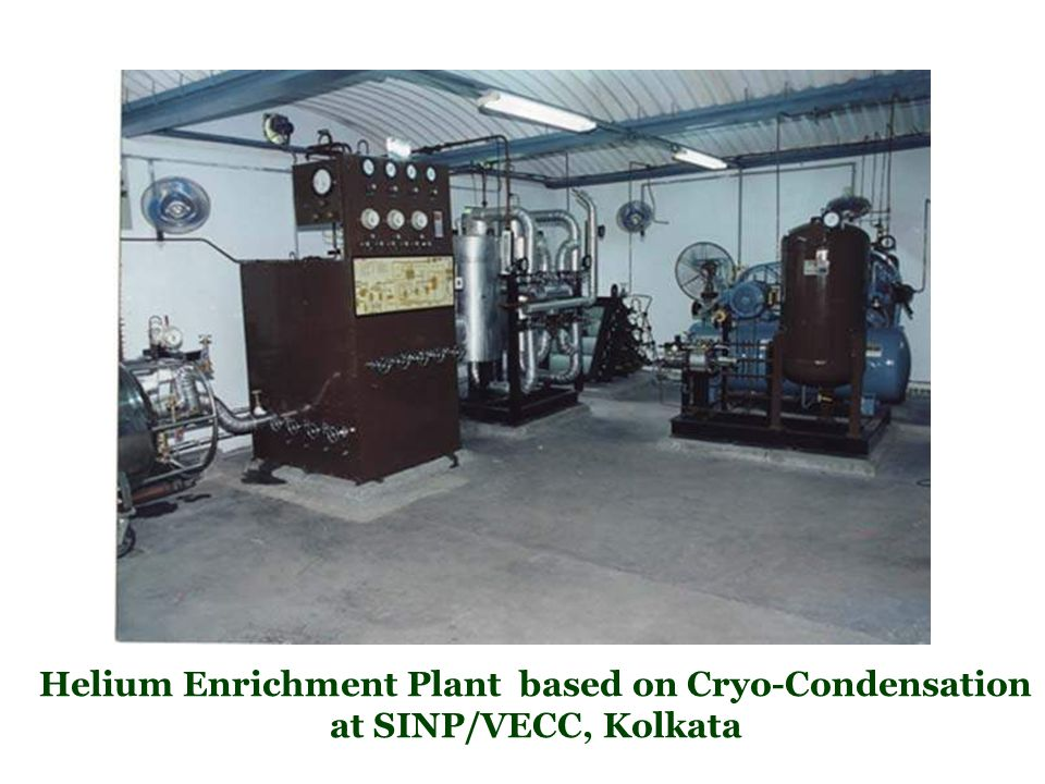 Helium Enrichment Plant based on Cryo-Condensation at SINP/VECC, Kolkata