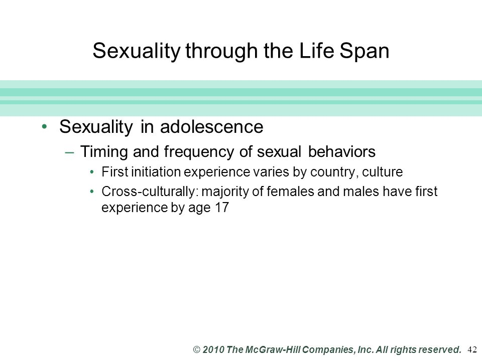 Slide 42 © 2010 The McGraw-Hill Companies, Inc.All rights reserved.