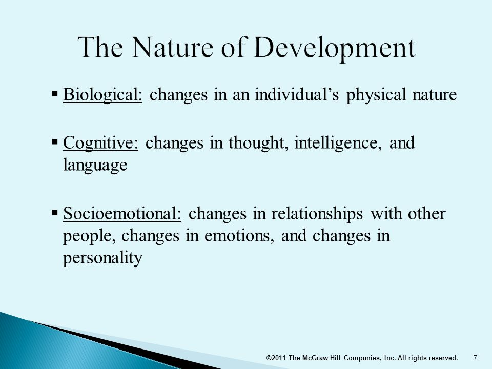 8 Developmental Changes Are a Result of Biological, Cognitive, and Socioemotional Processes