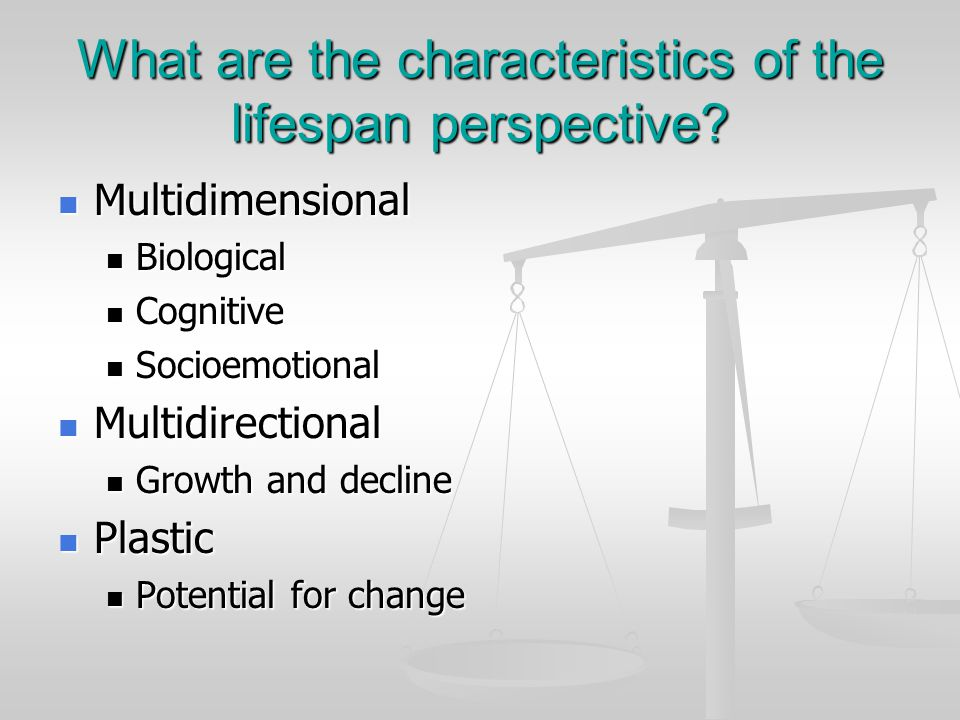 Issue 2: Stability/change When characteristics are biologically inherited or the result of early experiences, can they be changed.
