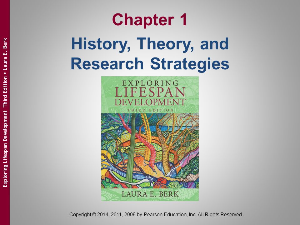 Copyright © 2014, 2011, 2008 by Pearson Education, Inc. All Rights Reserved. Exploring Lifespan Development Third Edition  Laura E. Berk Chapter 1 Hi