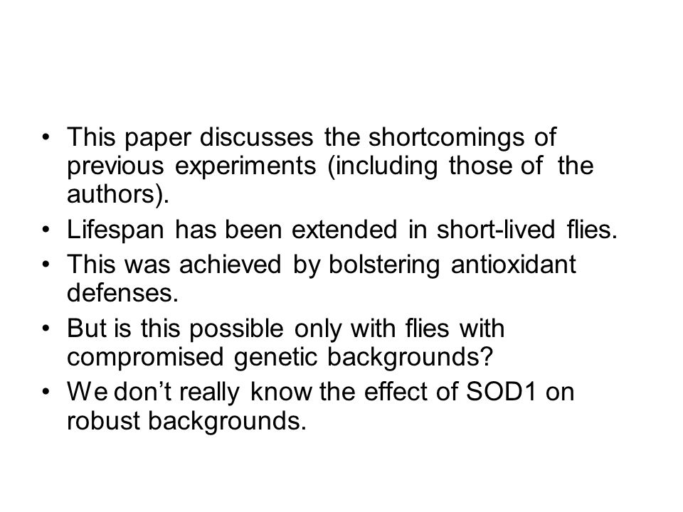 This paper discusses the shortcomings of previous experiments (including those of the authors).