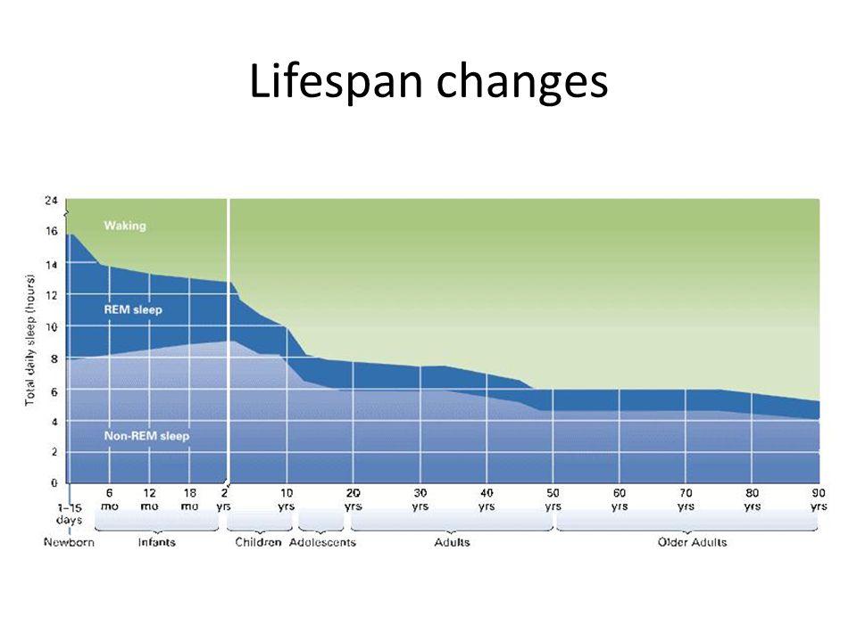 Lifespan changes