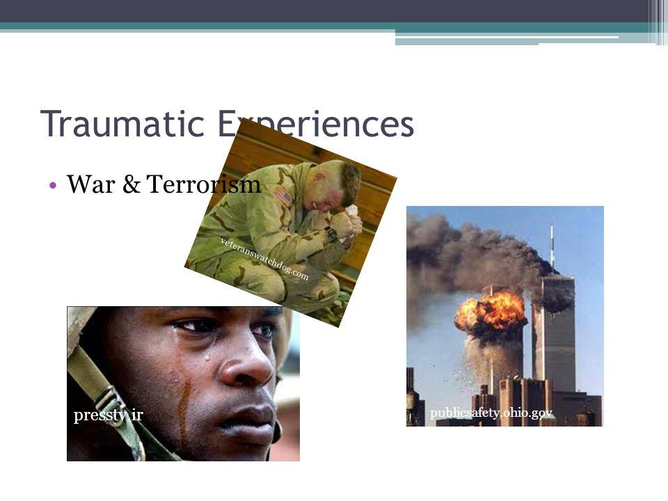 Traumatic Experiences presstv.ir veteranswatchdog.com publicsafety.ohio.gov War & Terrorism