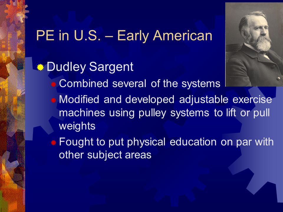 PE in U.S.