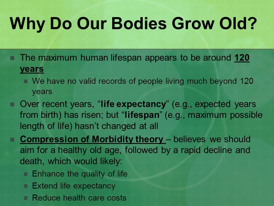 Is Aging Inevitable.