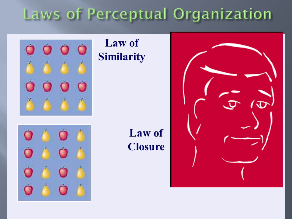 Law of Closure Law of Similarity