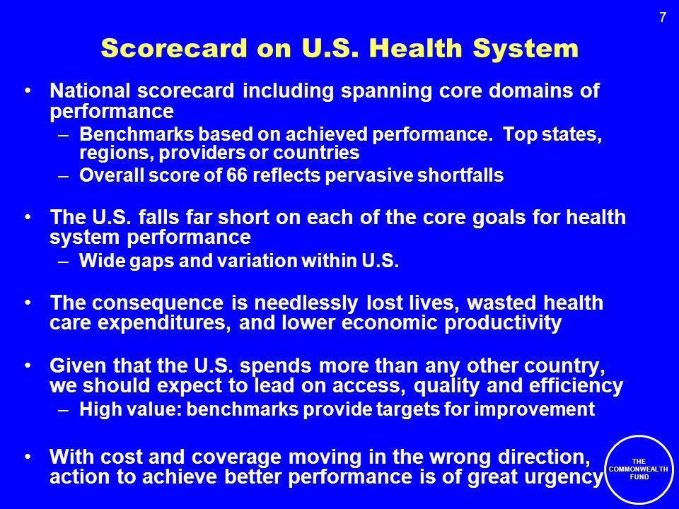 7 Scorecard on U.S.