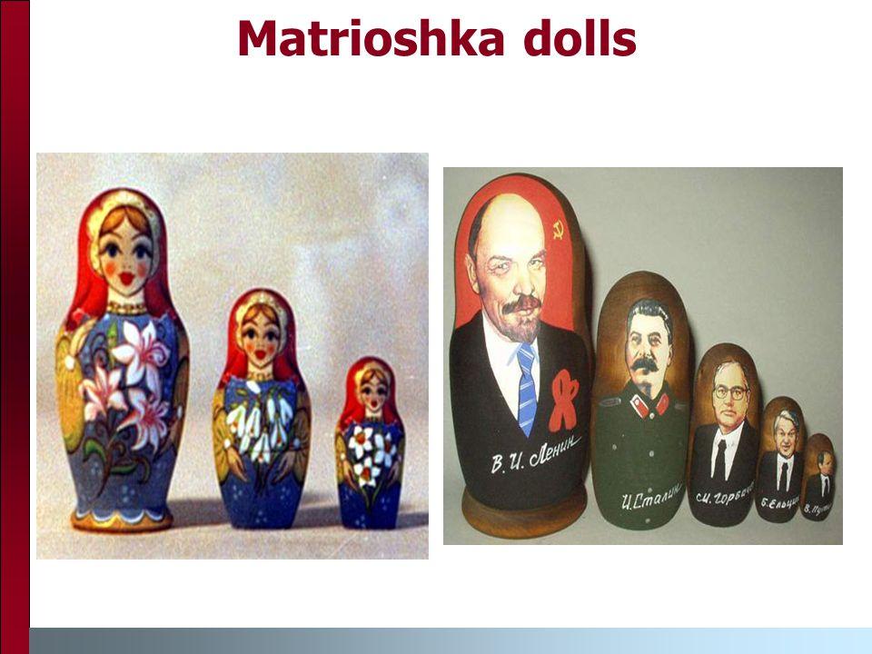 Matrioshka dolls