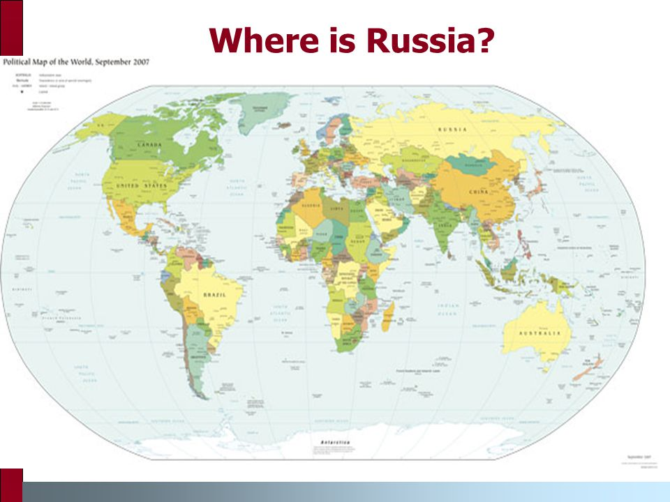 Where is Russia