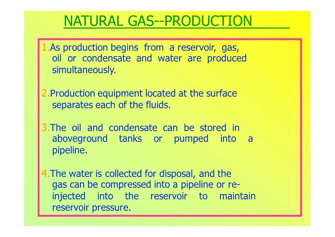 1.Natural gas is colorless. 2.