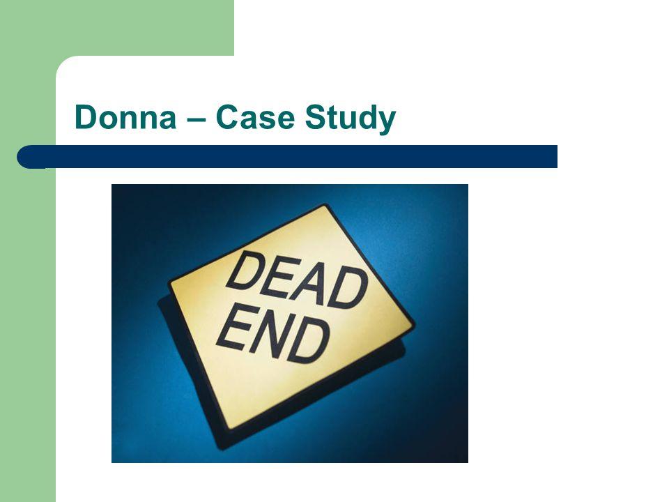 Donna – Case Study