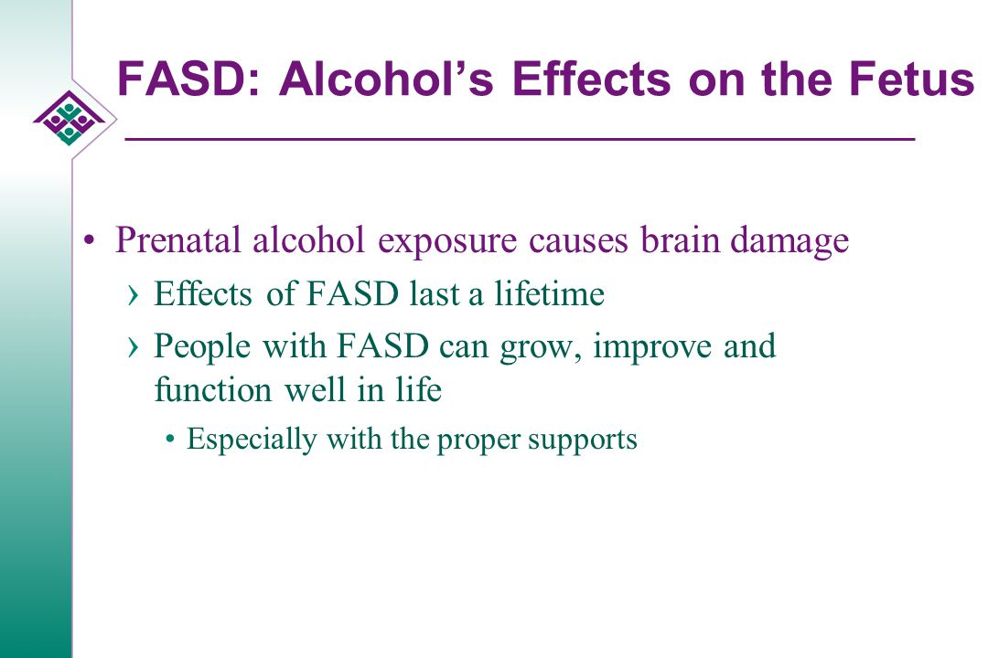 What Causes Fetal Alcohol Syndrome.