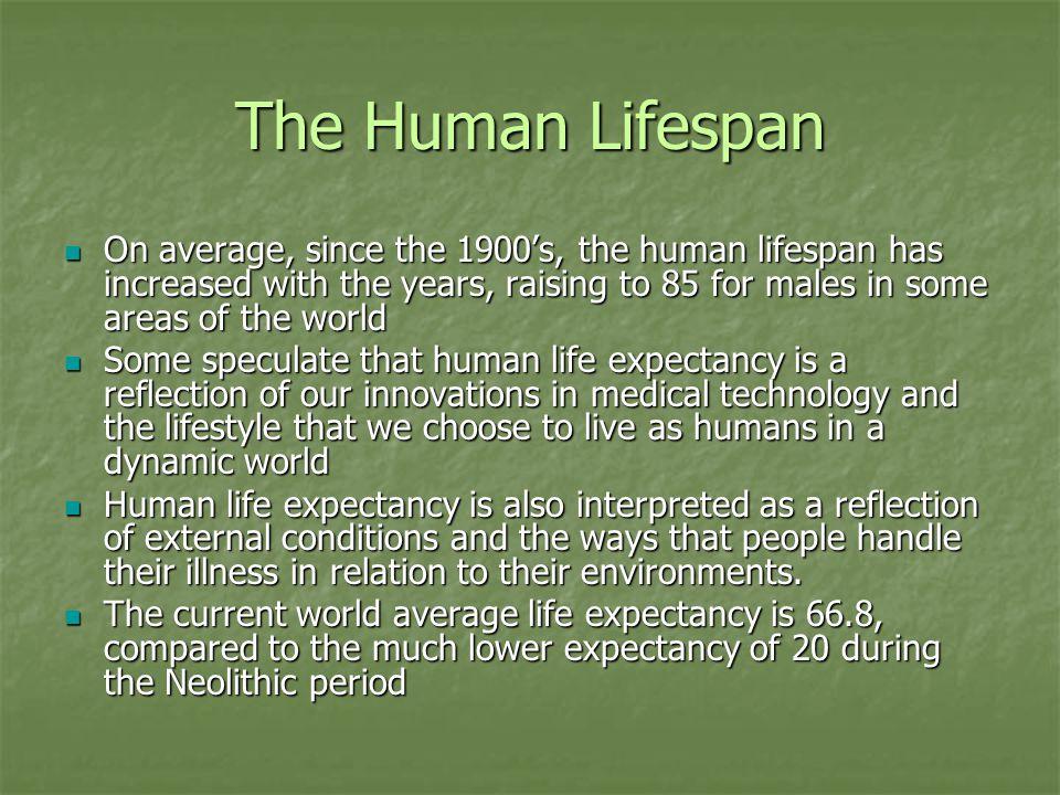 Lifespan Cont.