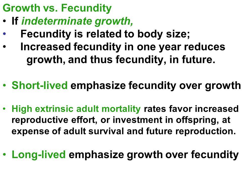 Growth vs.